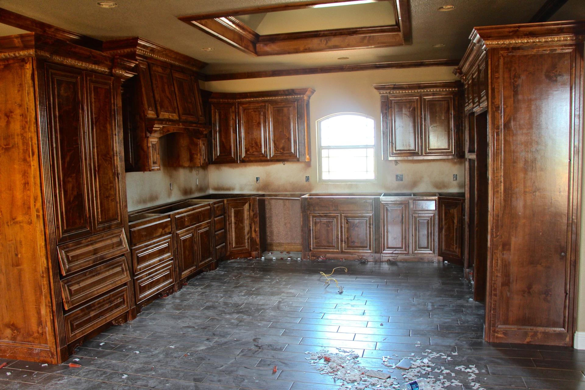 Adding Custom Cabinets