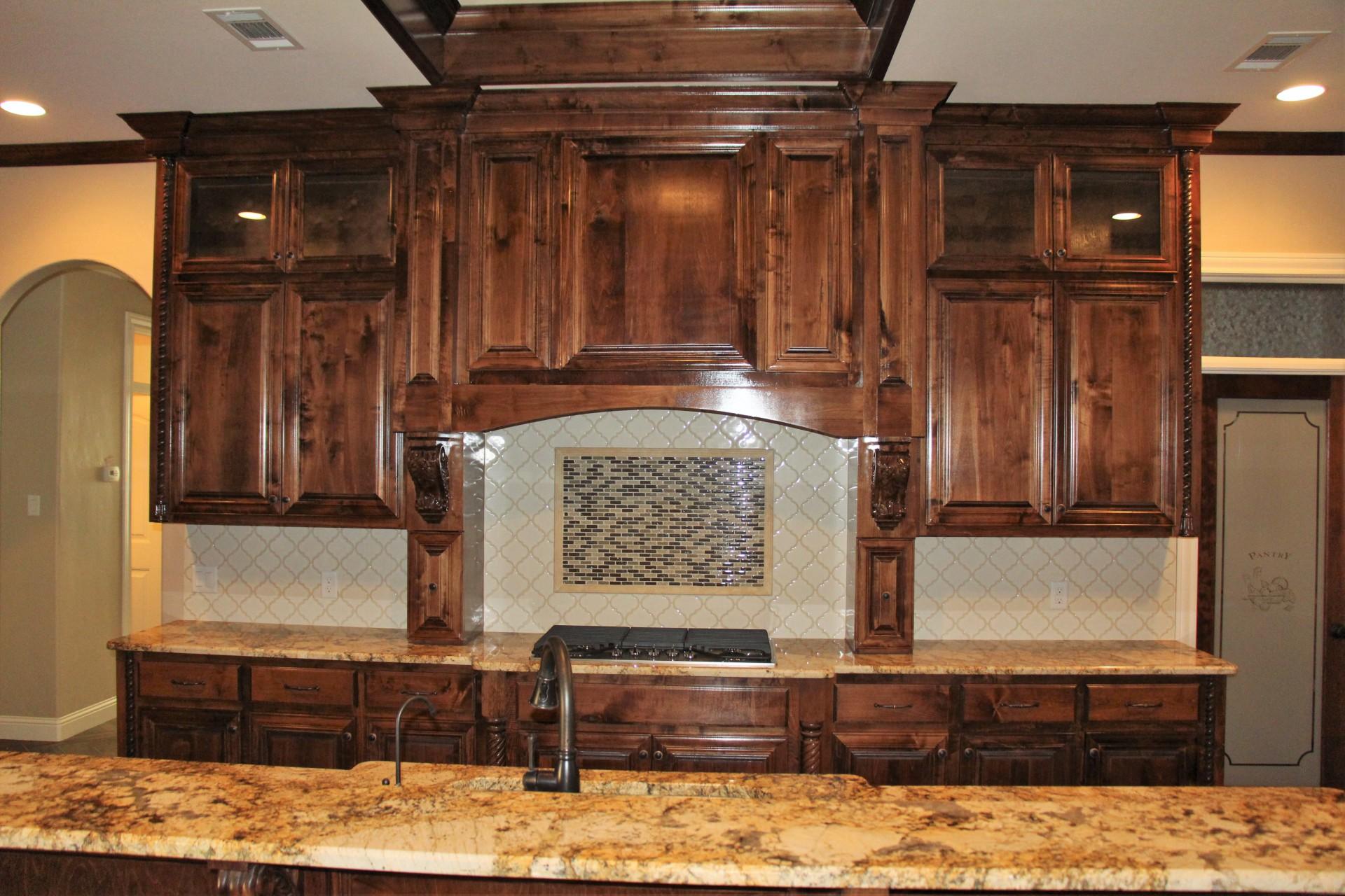 Kitchen Cabinets over range