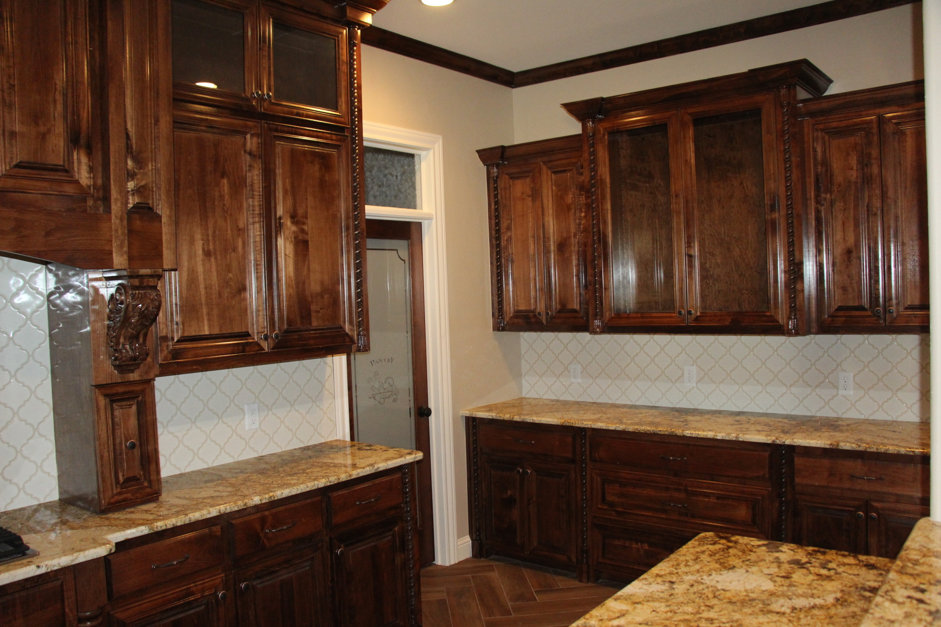 Large Kitchen Pantry View