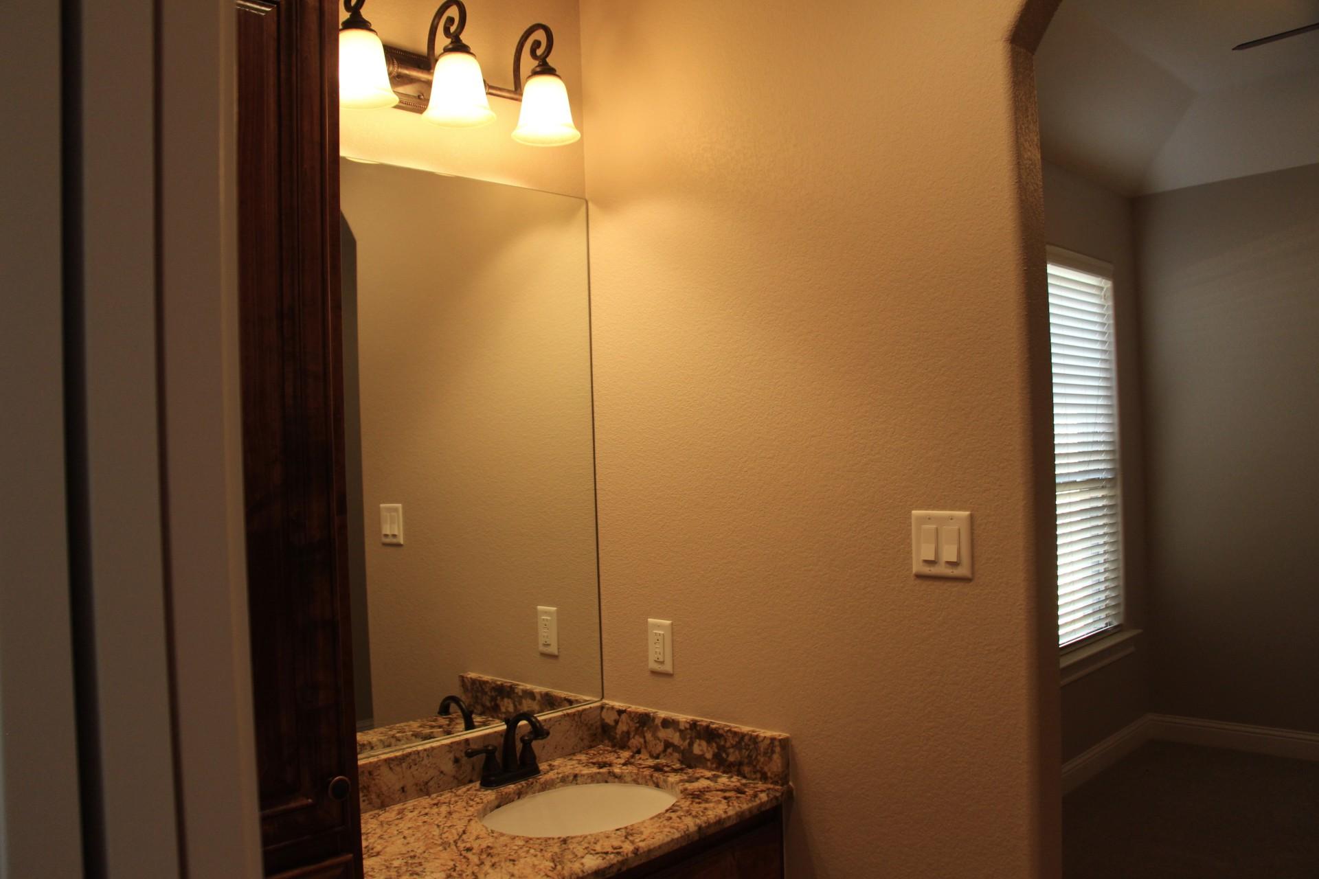 Bedroom #4 Sink Area
