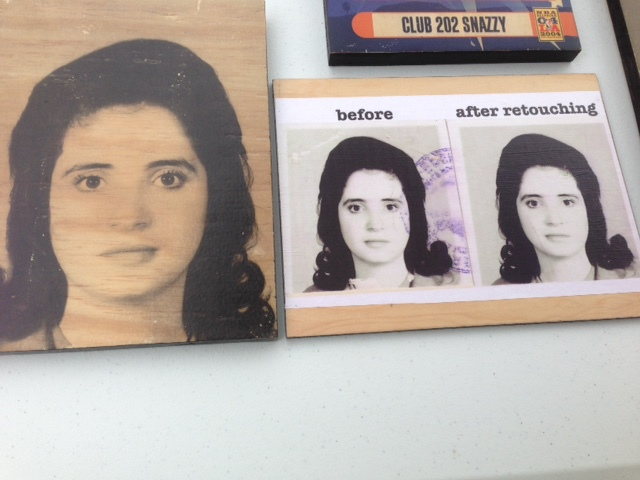 New Vendor - Have your digital pictures transferred to wood