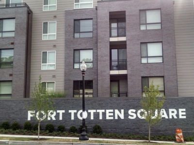 Fort Totten Square (3rd Street View)