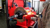 Disc brake machining