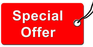 RED HOT SPECIAL OFFER!!!