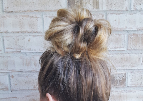 Day 9: Fool Proof Messy Bun