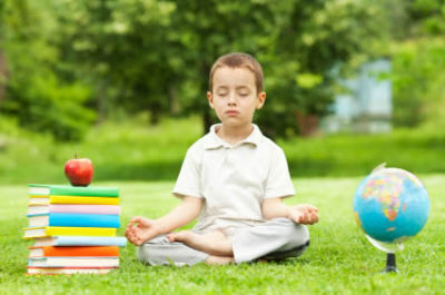 Kids can meditate!