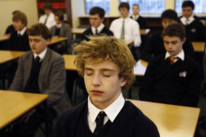 Teenagers benefit hugely from quiet time