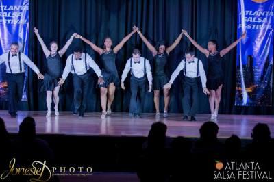 salsa dance performance in Nashville