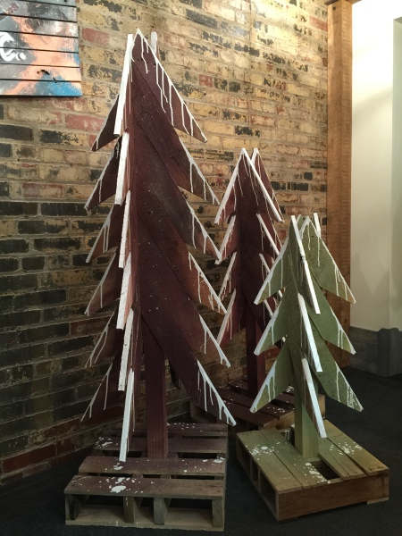 Reclaimed Wood Chrismas Trees