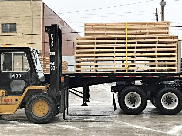 Custom pallets in almost any size or configuration