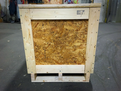 Plywood crate