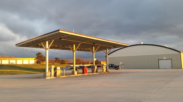 City of Urbandale Fuel Canopy