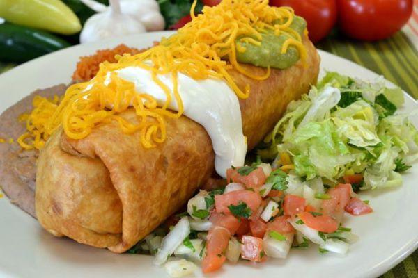 Meal Runner- Filiberto's Chimichanga