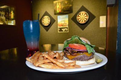 Meal Runner- Slate Street Bacon cheese burger