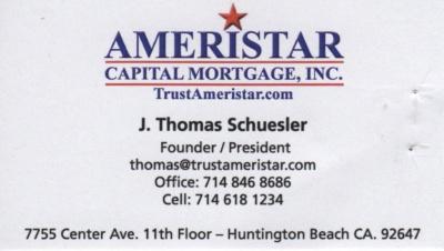 Ameristar Capital Mortgage