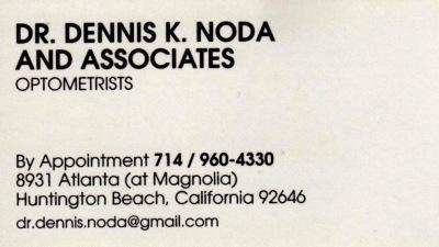 Dr. Dennis K. Noda and Associates