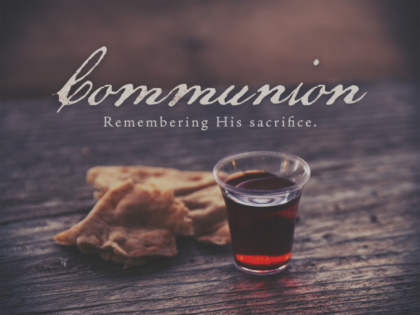 Communion April 2nd