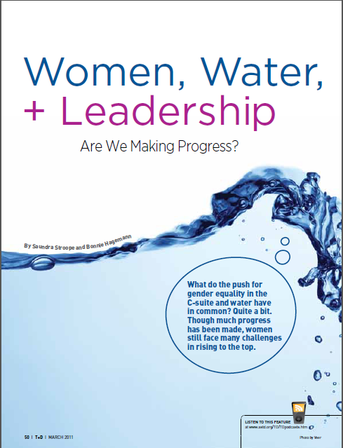 WOMEN WATER AND LEADERSHIP