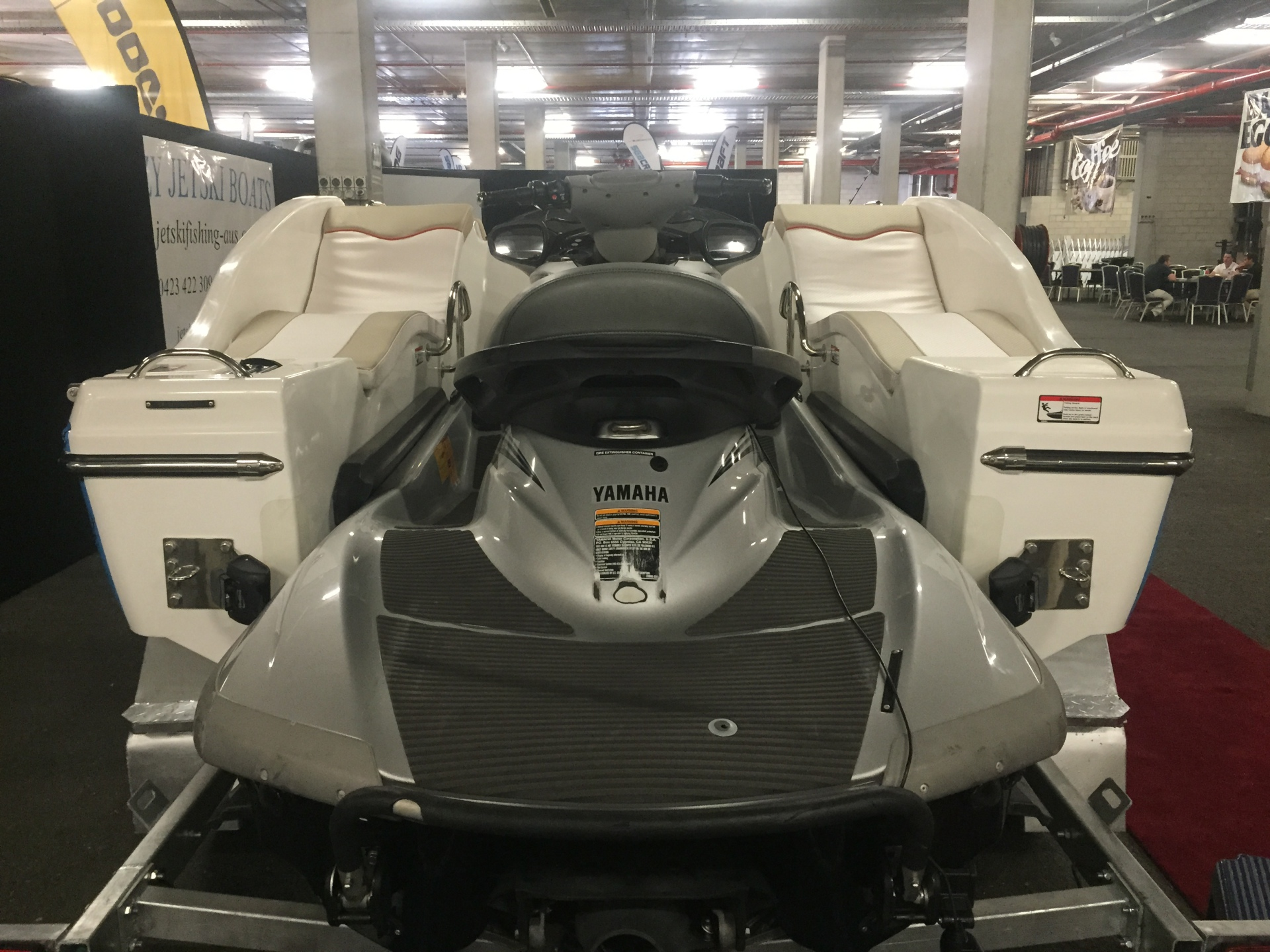 Jet Ski Boat Docking bay