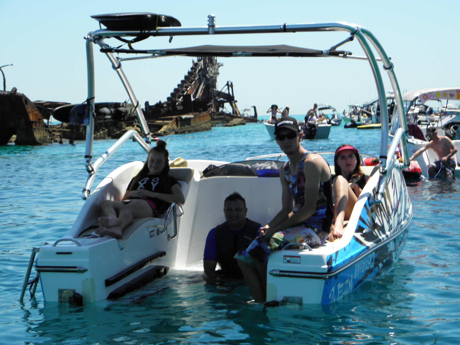 Tangalooma Jet Ski Boat