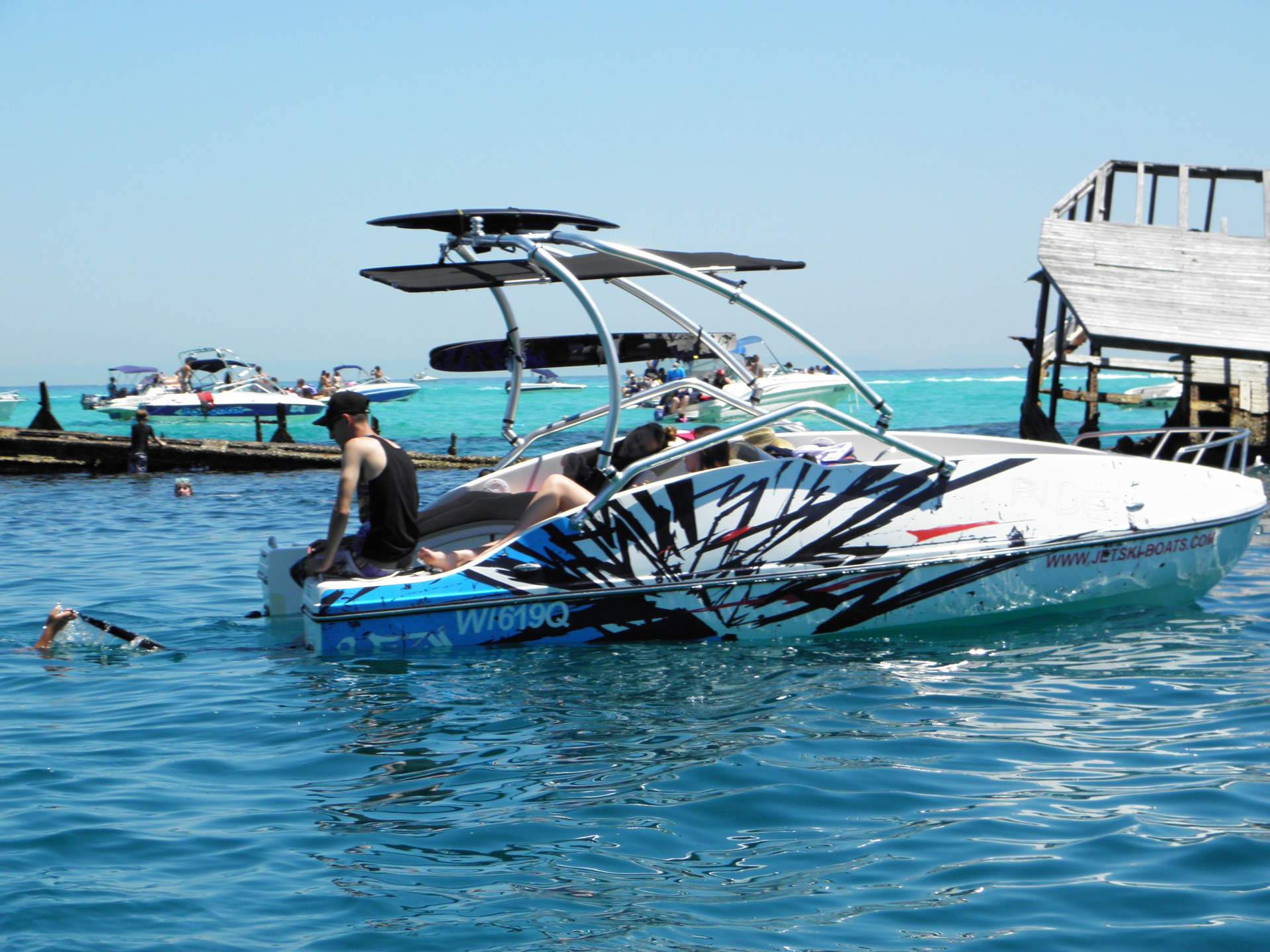 How much does a 2Ezy Jet Ski Boat cost?