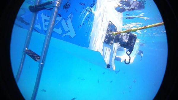 Jet Ski Boat Under water