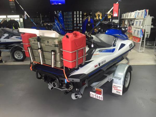 Large Jet Ski Fishing Rack