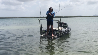 Jet Ski Fishing attachment
