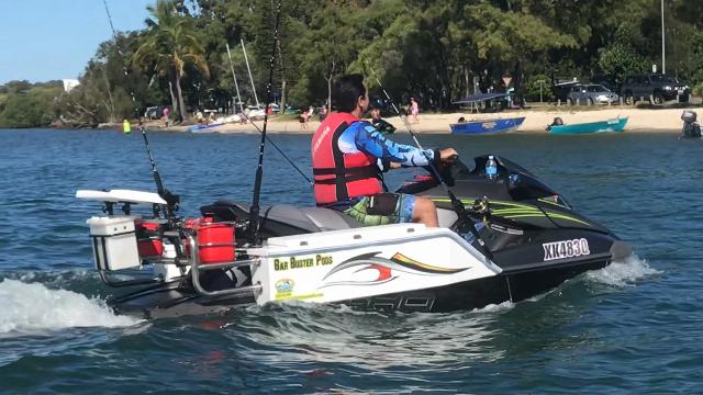 Jet Ski Fishing attachment