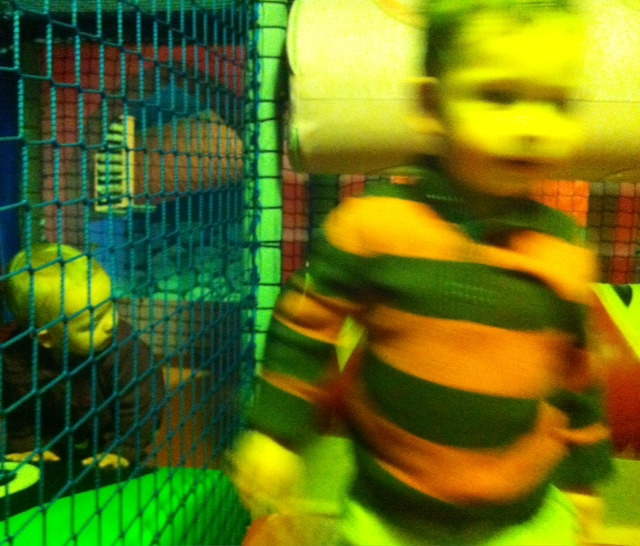 Two Toddlers, Two Hours, and a Soft-Play Place