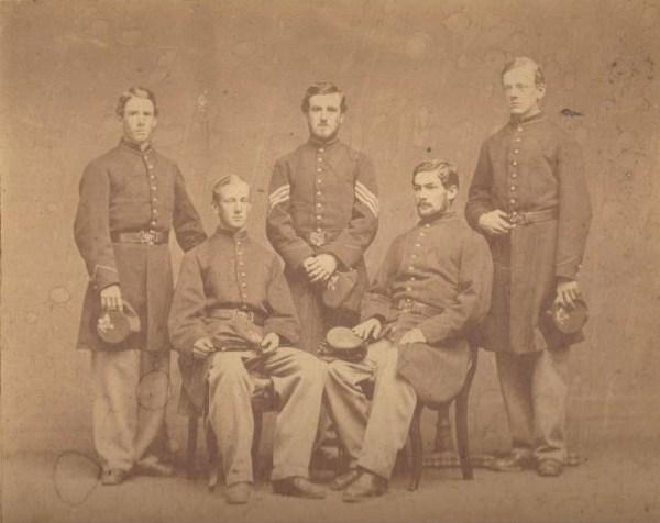 Andover Civil War photograph Marland cousins