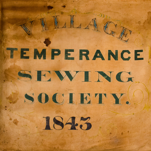 Andover temperance banner