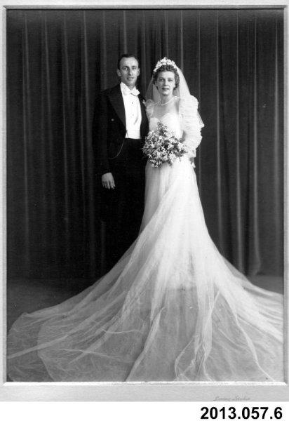 wedding portrait 1940 andover