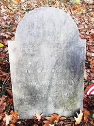 Cate Freeman's grave