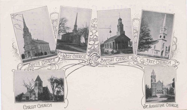 Andover's Early Churches: A History of Helping Others