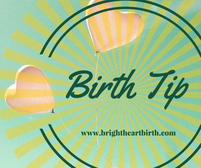 Birth Tip! Sitz Bath