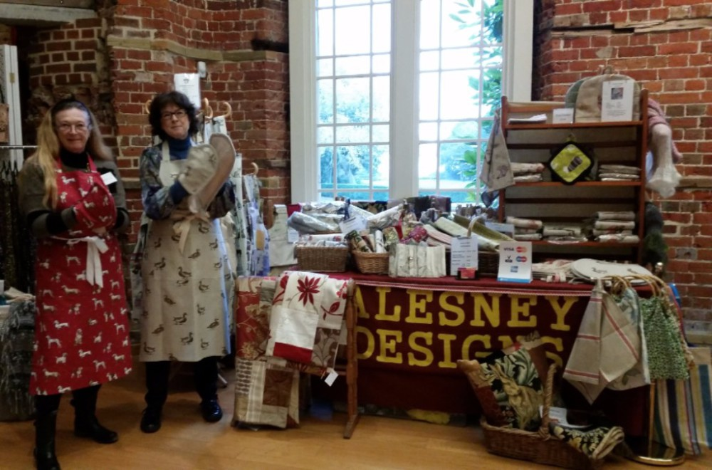 Alesney Designs, Apron, Cushions, New Forest, handmade, aga hob covers