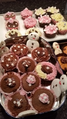 and a bit of baking for the School X-mas fair