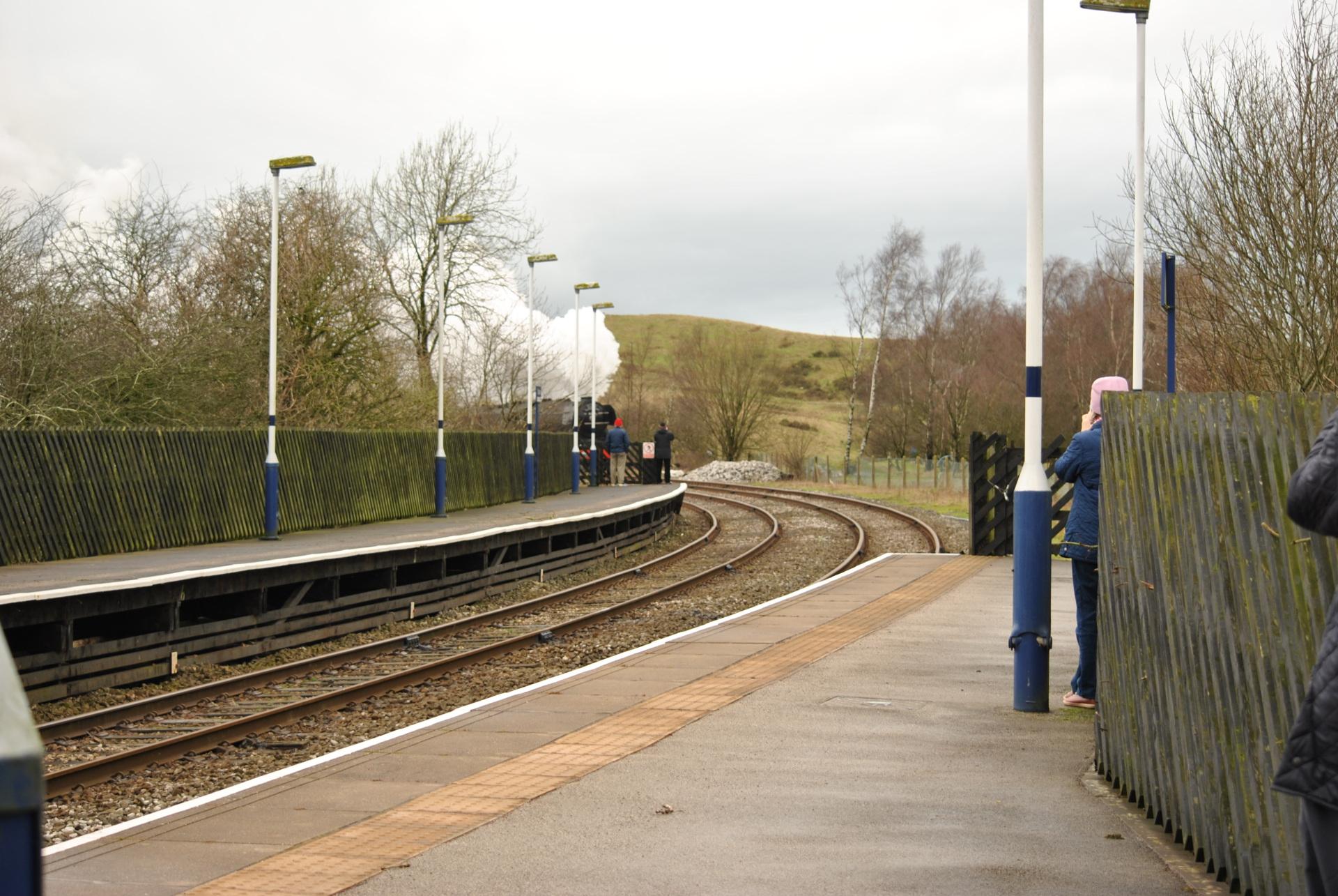 Flying Scotsman, Engine, steam train, test run, Clapham