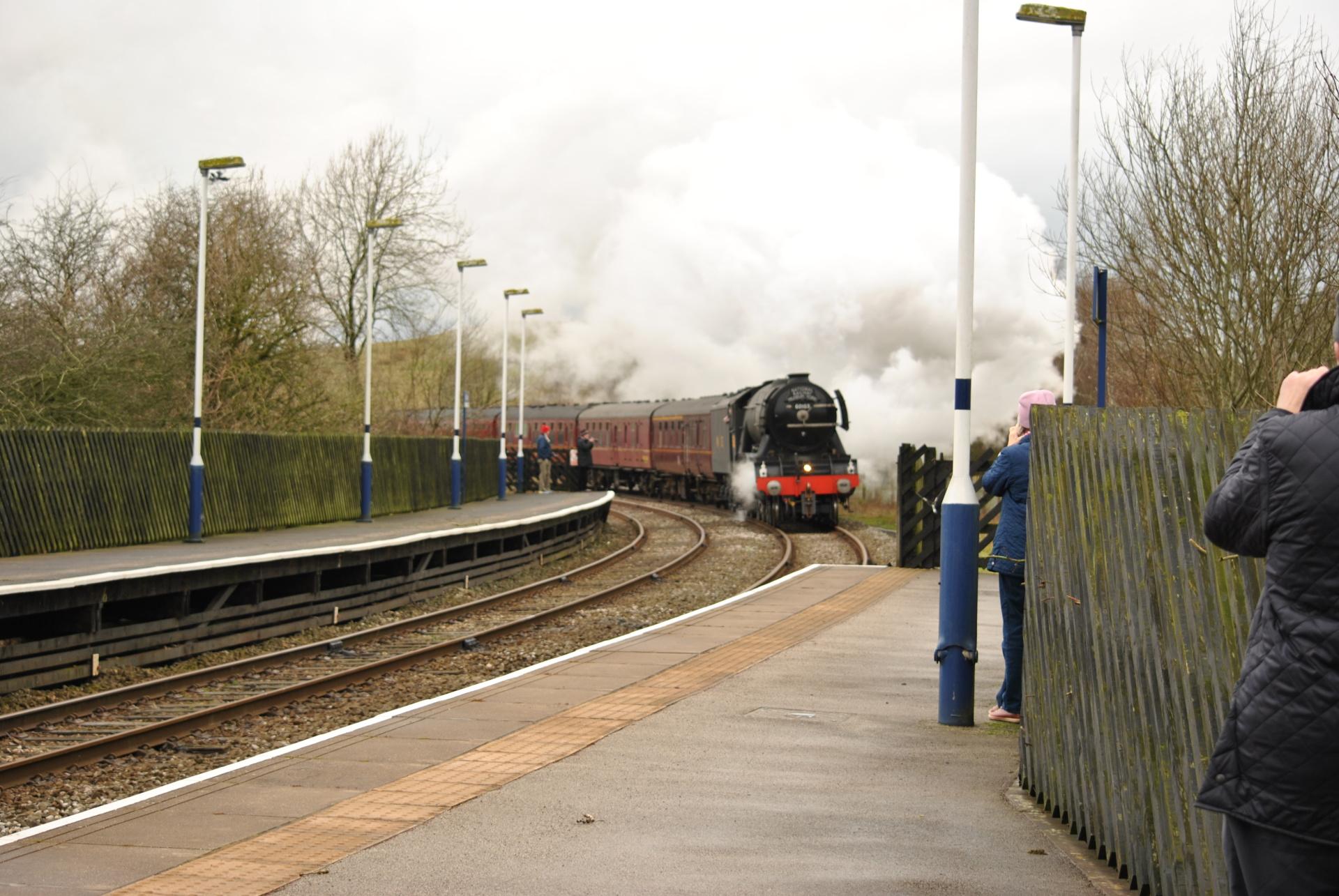Flying Scotsman, train, steam train, engine
