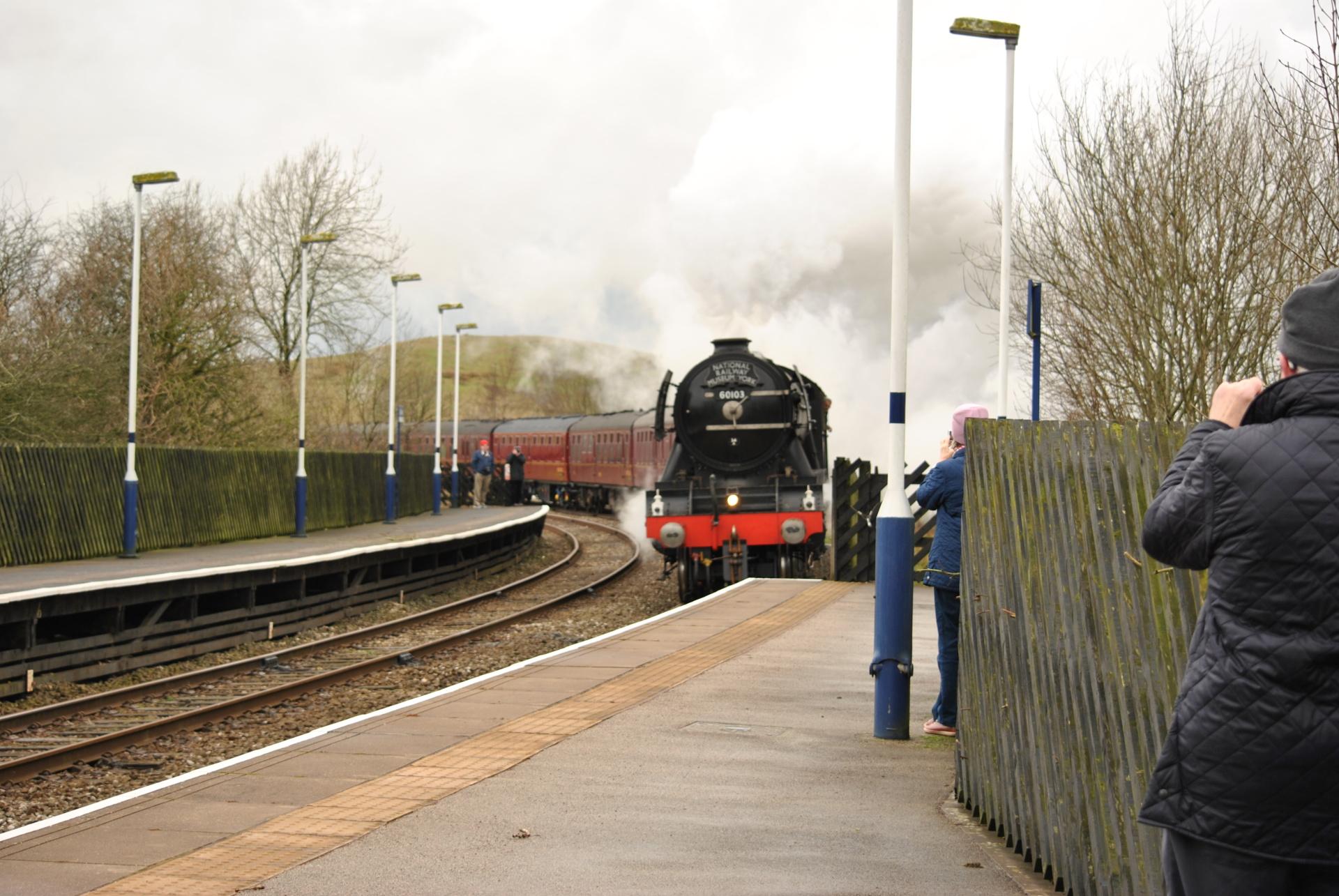 Flying Scotsman, steam train, engine