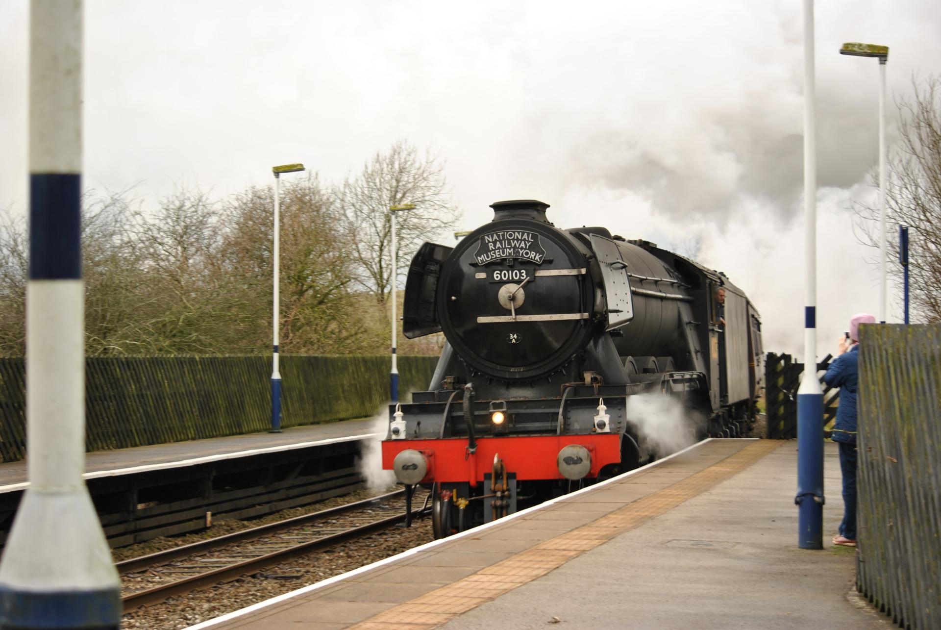 Flying Scotsman, engine, steam train
