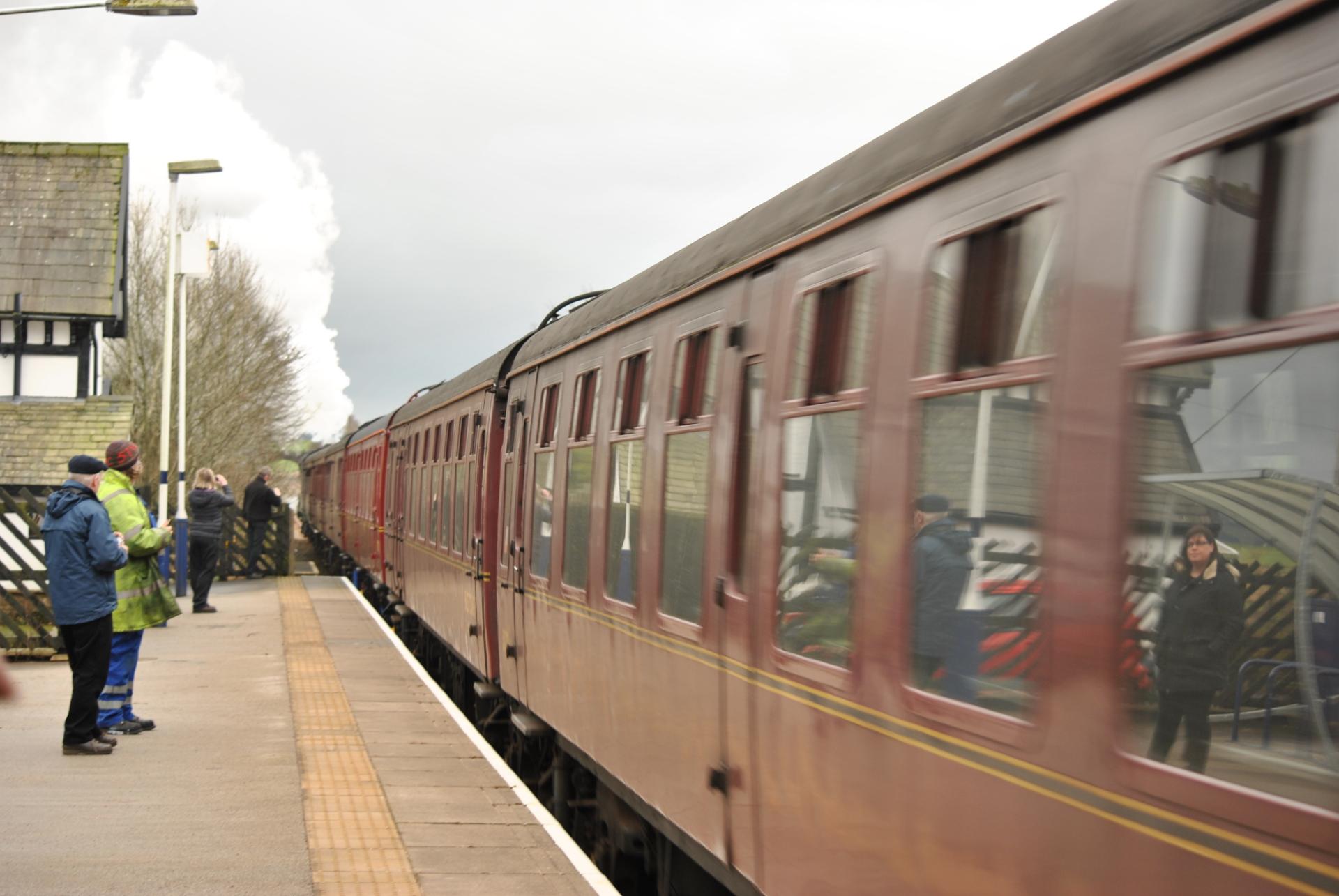 Flying Scotsman, steam train