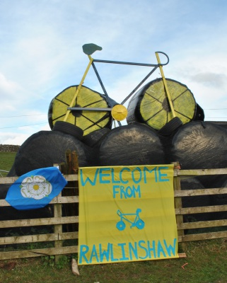 Rawlinshaw welcomes The Tour de Yorkshire