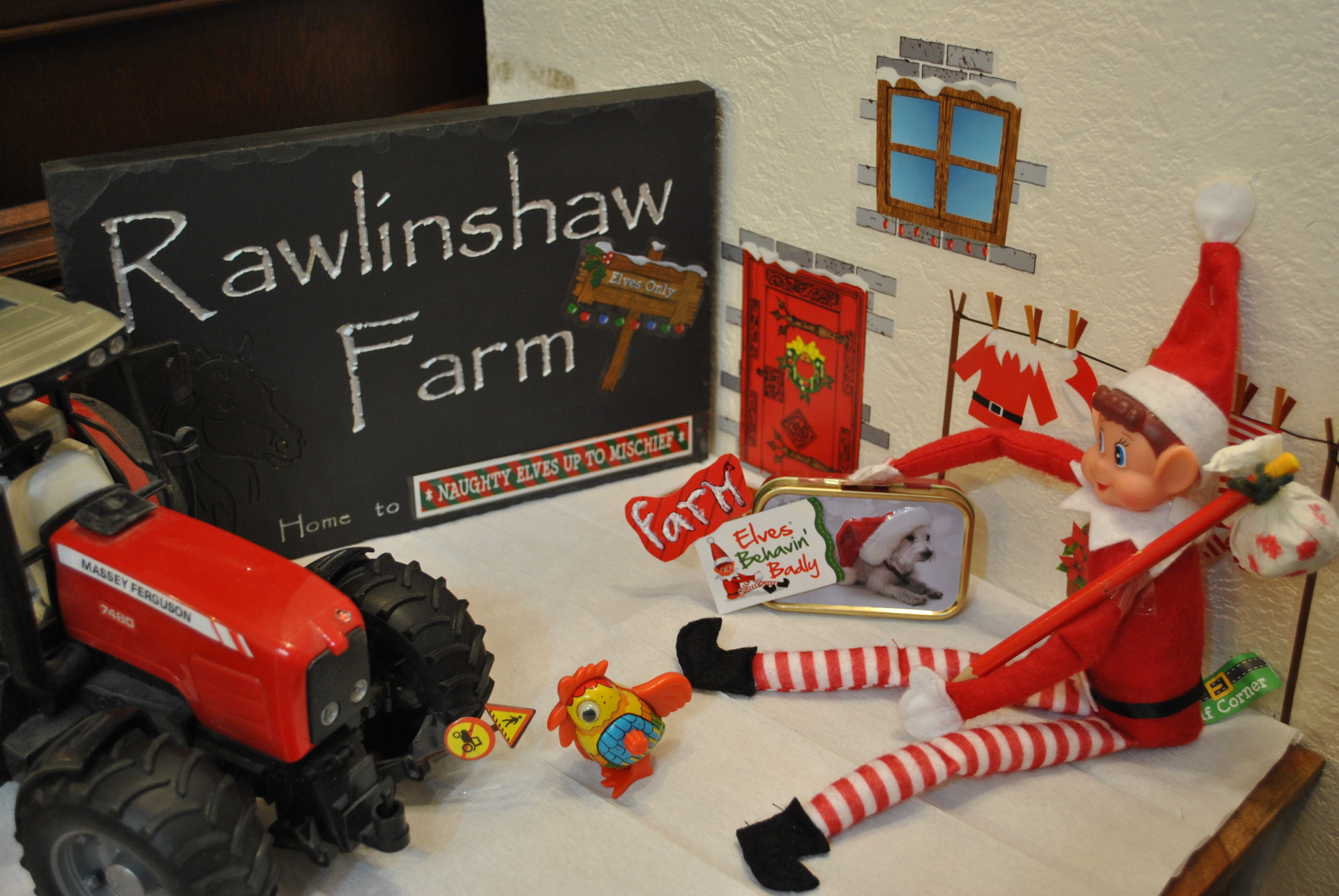 Arthur arrives at Rawlinshaw