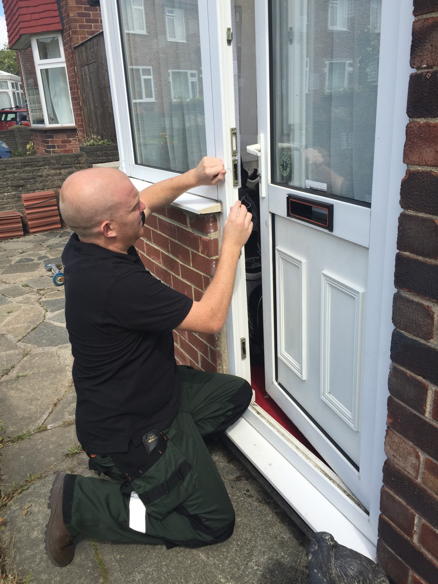 Locksmith Picked Door Open