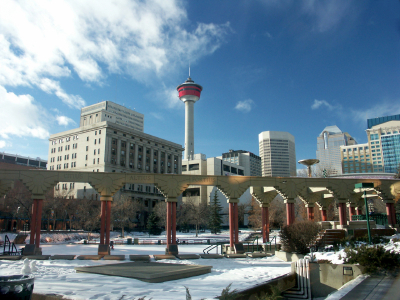 Calgary's climate, not that cold!
