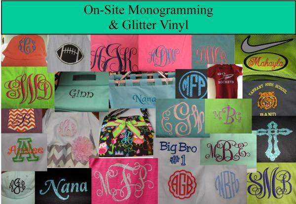monogram-vinyl-collage