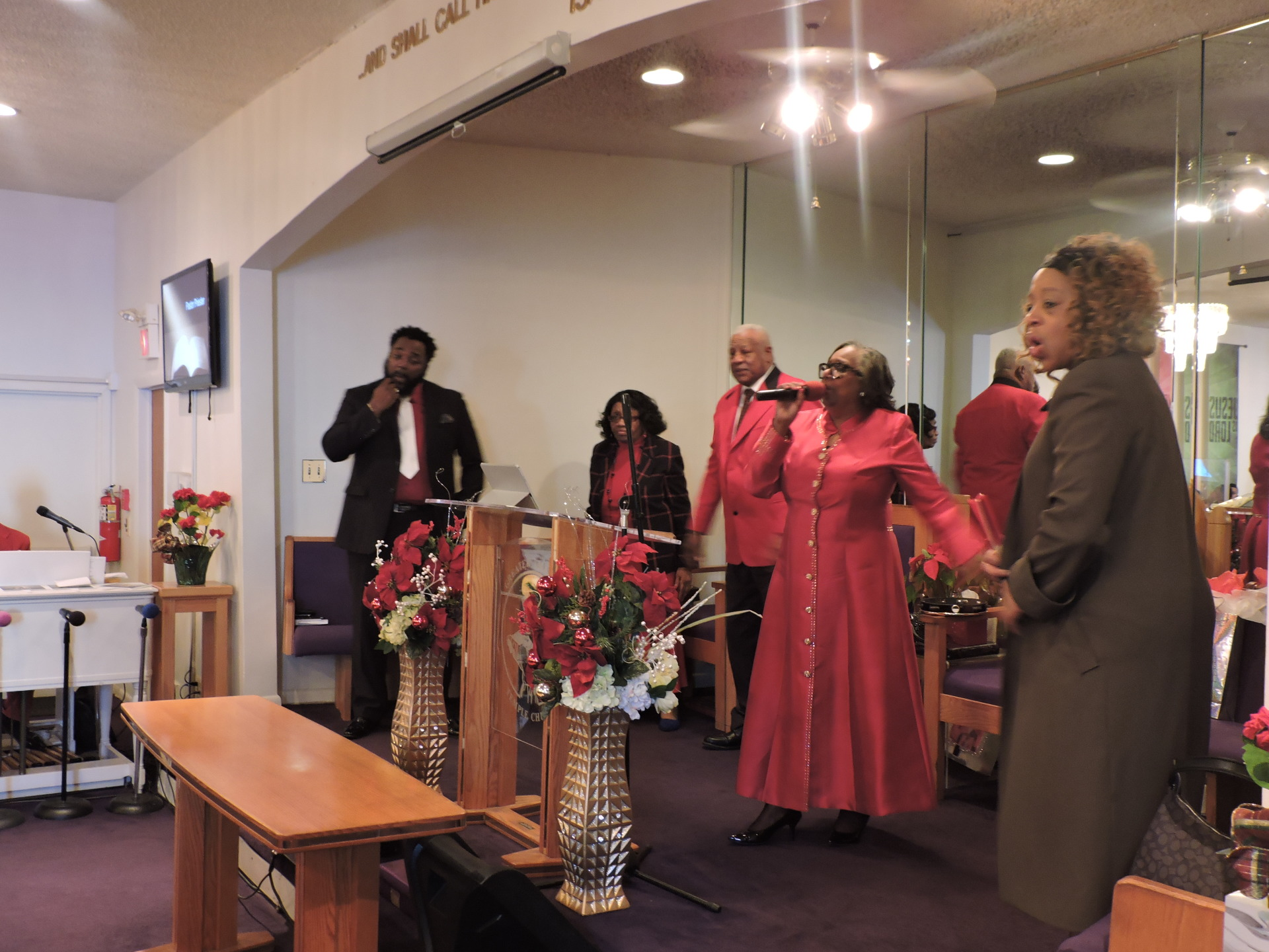 Pastor Gwen & Greater Hope Sanctuary