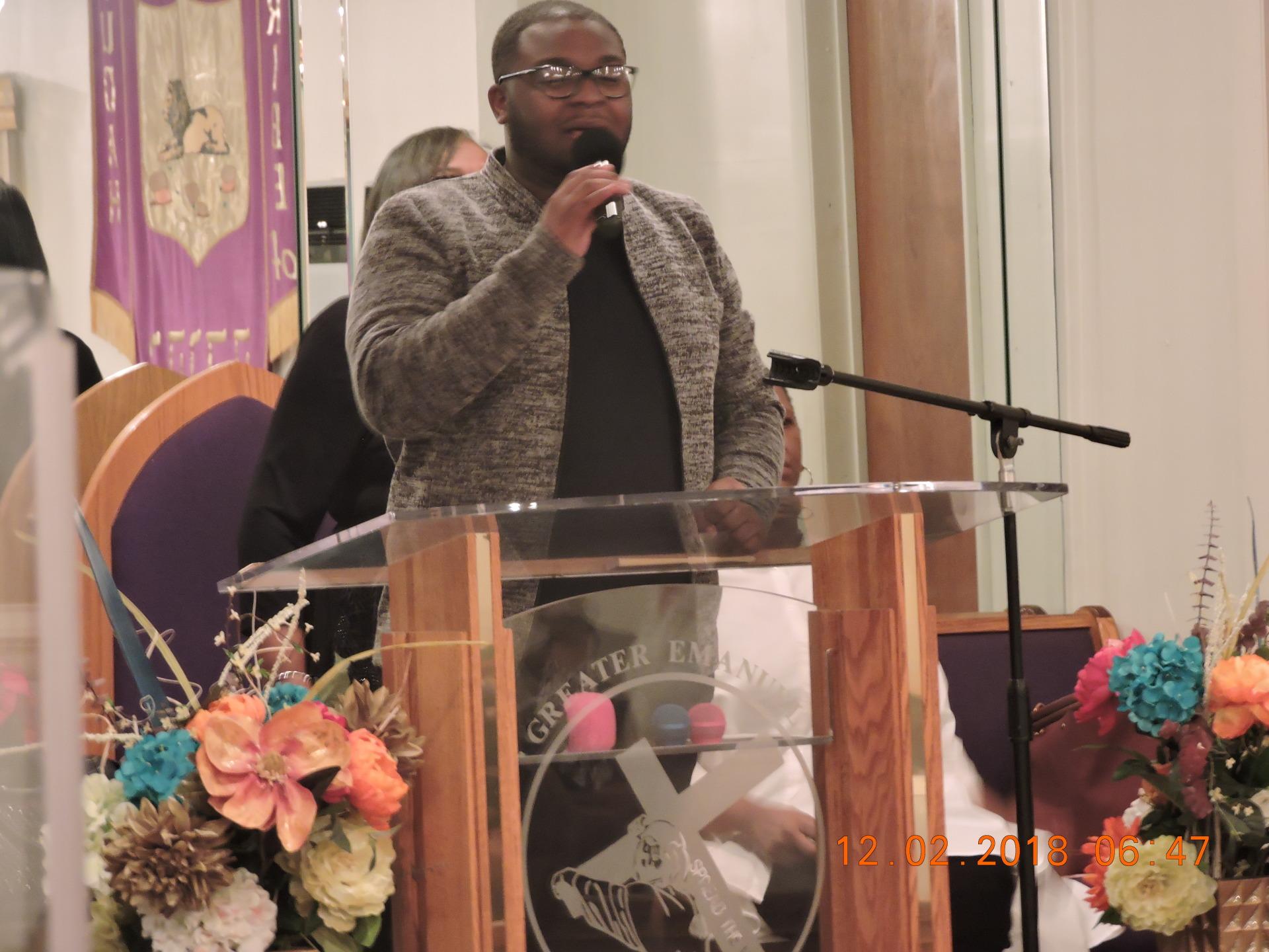 Prophet Darius Walton Ministering to G.E.T.